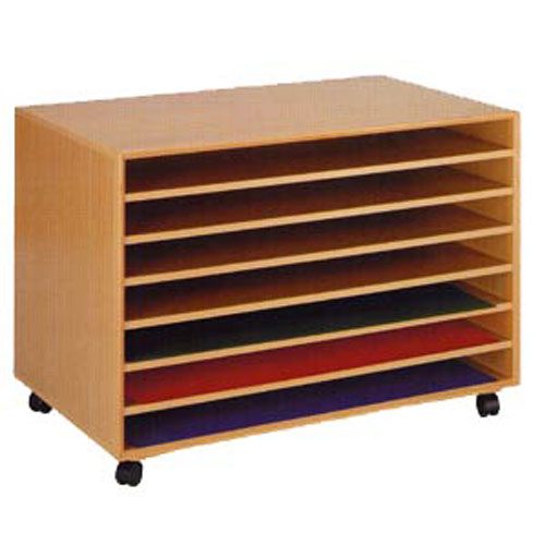 Art Paper Storage Unit