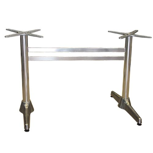 aluminium table base basic Double for rectangle table tops