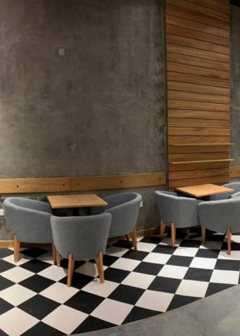 Cafe furniture - Arm chairs and sofas - Najmi Furniture UAE