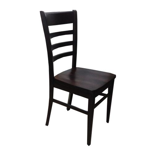 Crawford  Darkwood with Wooden Seat