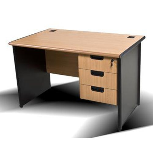 Desk with Fixed Pedestal Drawer