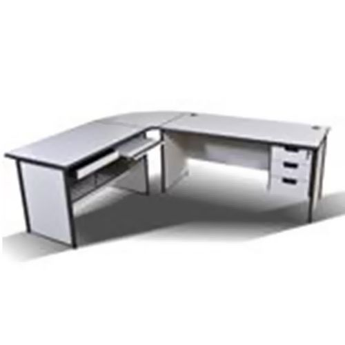 Desk with Joint Corner + Computer Desk CD801