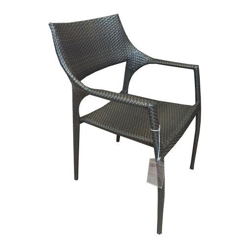 Golf  Wicker Arm Chair Chocolate