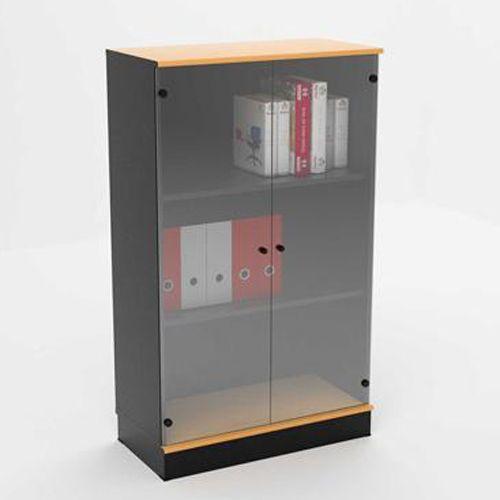 High Storage Unit Glass Door