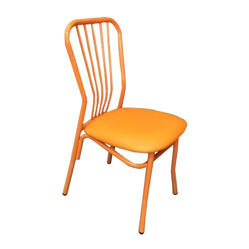Kristy Steel Chair  Orange