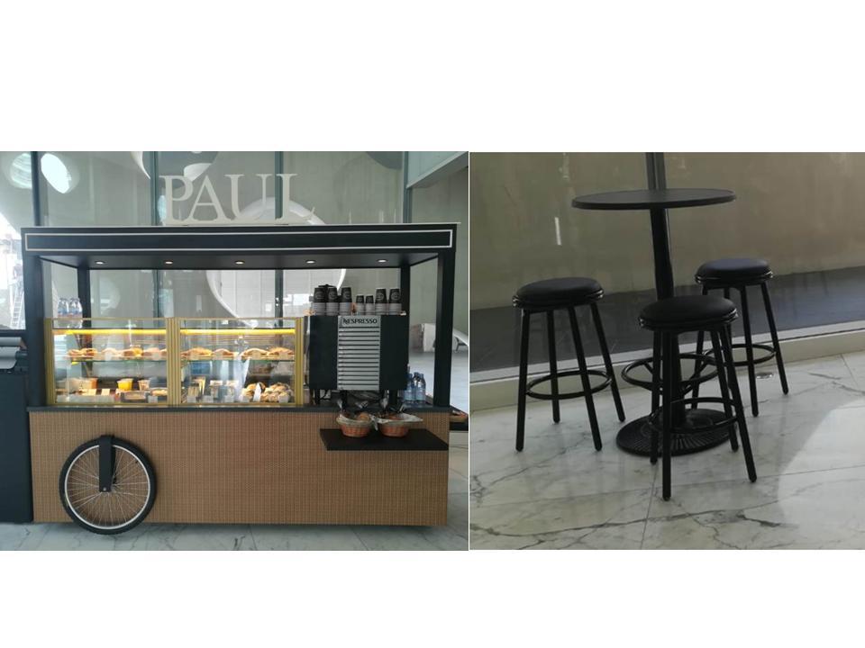 Kiosk Furniture for cafes