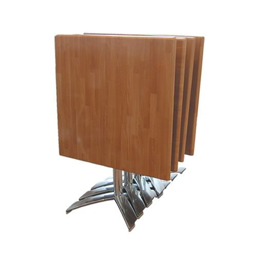 Stack Leg + Butcher Block Square Isotop