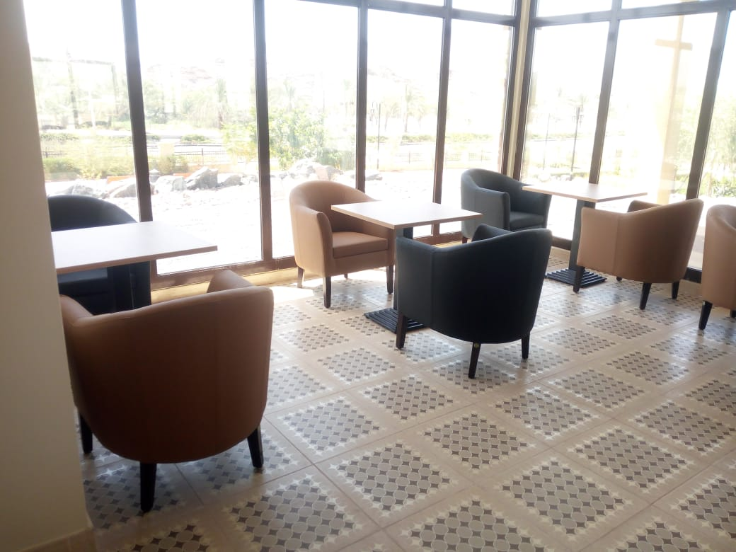 cafe furniture supplied in Hatta UAE