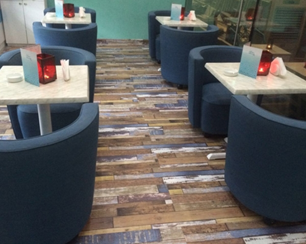 cafe furniture supplied in hotels