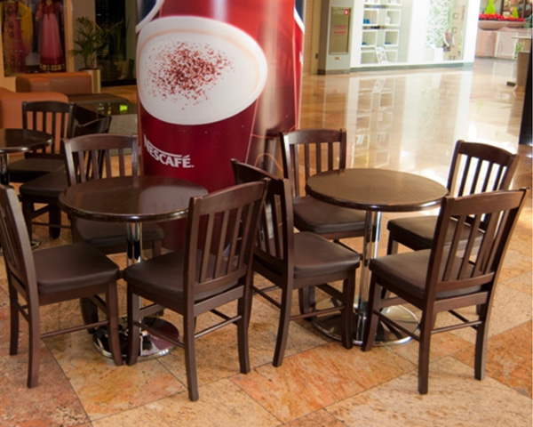 Coffee shop Furniture - tables and chairs