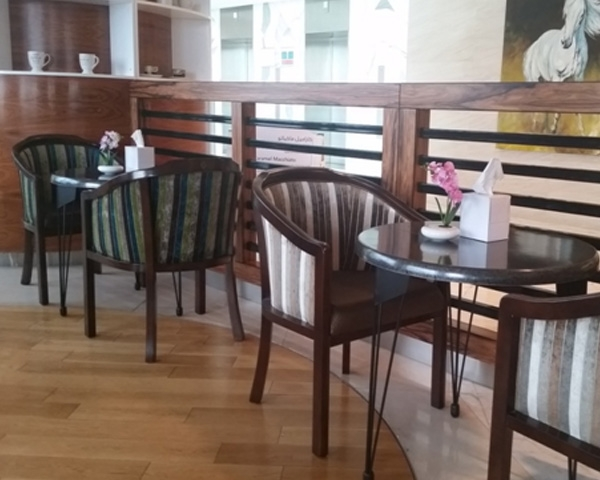 Cafe furniture -  low height tables