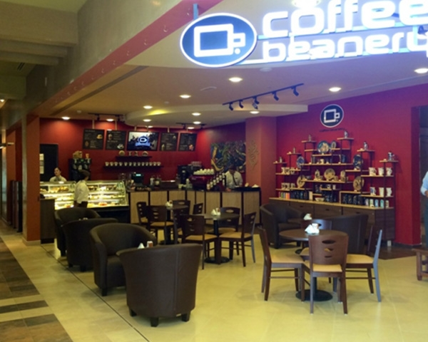 Coffee shop furniture in healthcare city