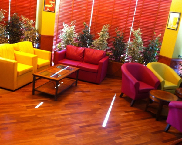 Custom made cafe sofas and chairs