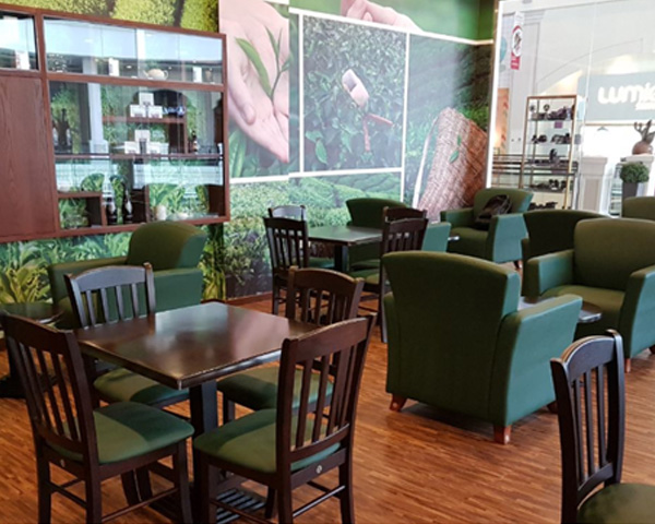 Coffee shop and lounge furniture in UAE