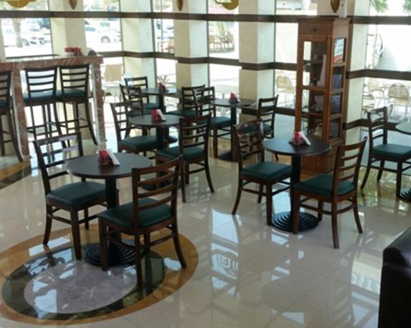 Coffee shop furniture supplied in R.A.K. UAE