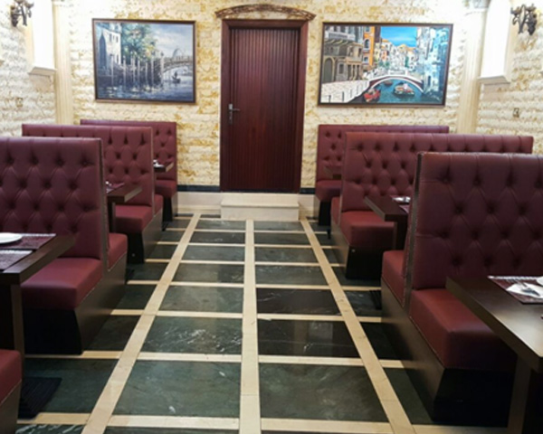 Custom made restaurant Furniture for Abu Dhabi UAE