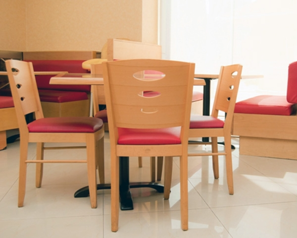 Restaurant furniture in UAE - contract quality tables and chairs