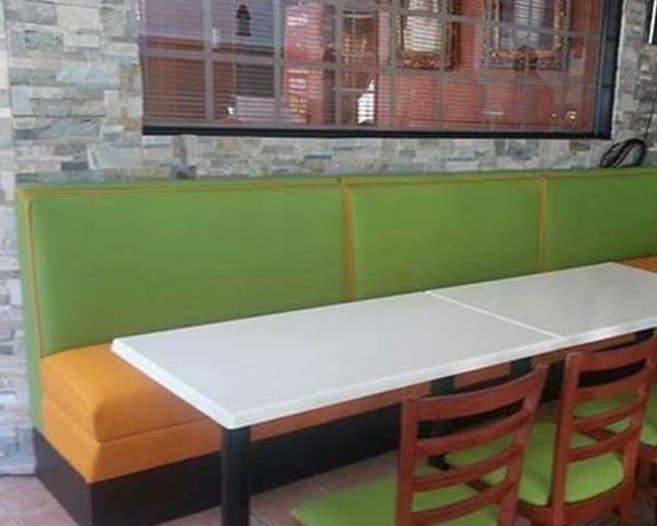 custom made sofa booths for restaurants in UAE