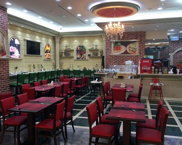 Italian restaurant furniture supplied in Abu dhabi