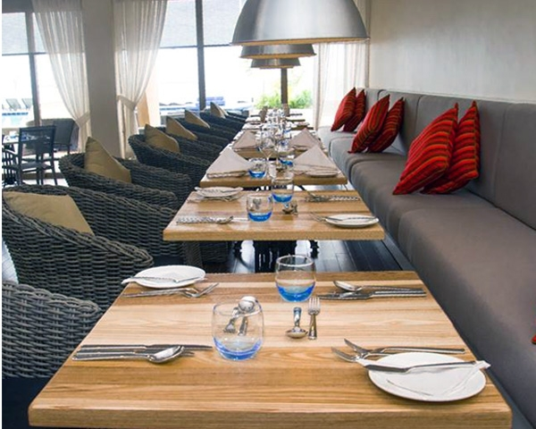 booth and Banquette seating for restaurants in a hotel