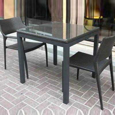 Outdoor Aluminium & Tempered Glass