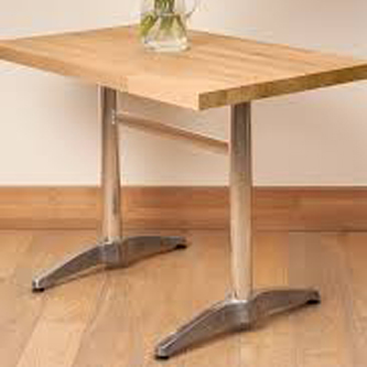 Cast Aluminium Table bases