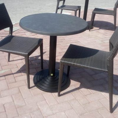 Cast Iron table bases & Powder Coated Steel table bases