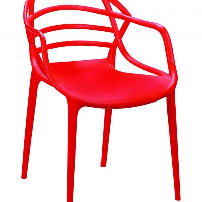 outdoor restaurant polypropylene chairs